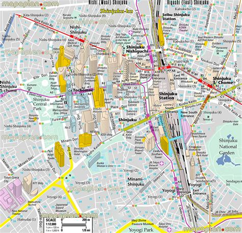 tokyo map tourist attractions how to plan a trip to japan map