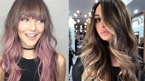 whats the new trend in haircolor for hair in 2015 2018 hair color trends youtube