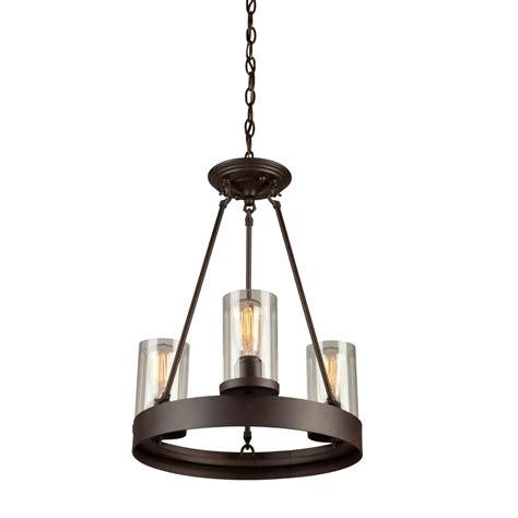 oil rubbed bronze pendant light menlo park 3 light oil rubbed bronze chandelier artcraft