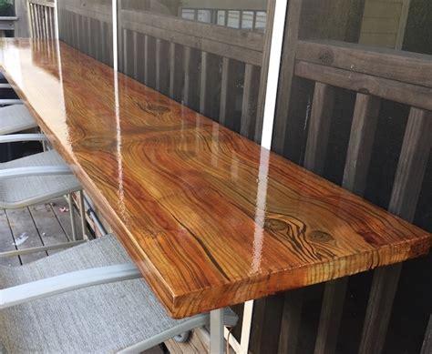 building a wood bar top concrete bar top counter top