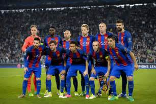 barcelona squad fc barcelona host juventus in the chions league quarter