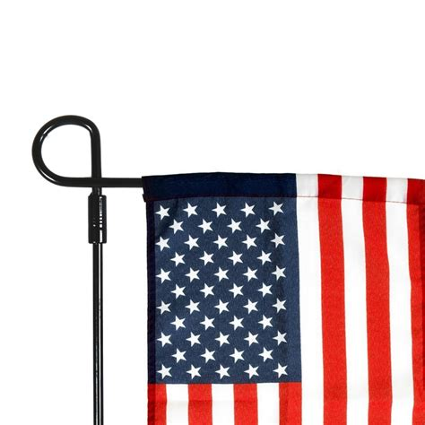 powder coated wrought iron garden flag stand 15 7 inches