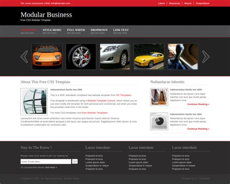 simple business website templates 21 free business website themes templates free