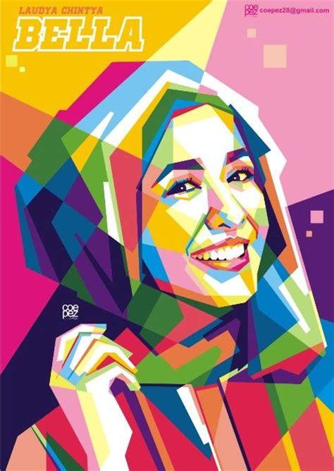 tutorial wpap hijab quot beauty in hijab quot laudya chintya bella my wpap