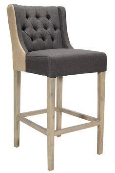 taburetes altos tapizados lara hong banquetas altas para bar muebles rusticos madera y cuero