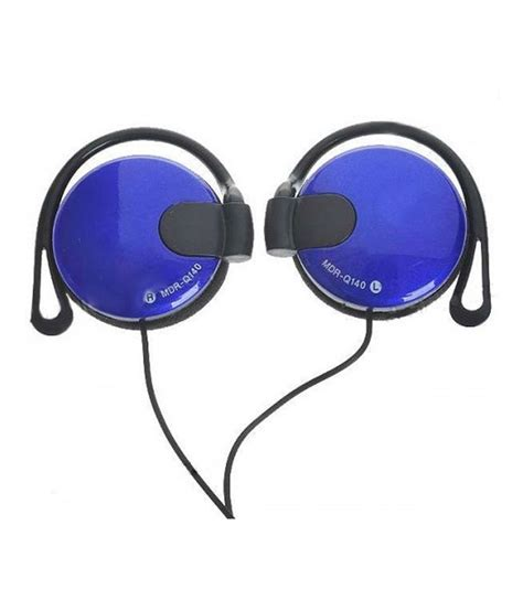 Headset Sony Mdr Q140 buy otd sony mdr q140 wired headphones blue at best price in india snapdeal