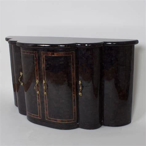 Maitland Smith L by Maitland Smith Vintage Penshell Sideboard For Sale At 1stdibs