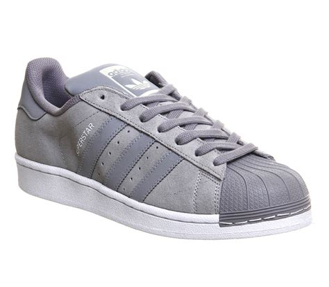Adidas Grey adidas superstar 1 light grey tech pack unisex sports
