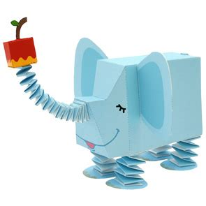 Canon Creative Papercraft - 3d free printable elephant paper toys is it for