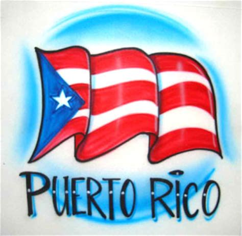 pictures of puerto rican flags