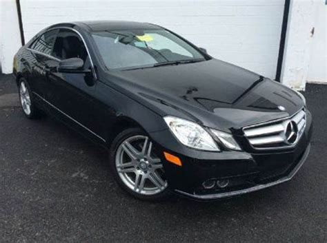 Mercedes For Sale In Md 2011 Mercedes E Class For Sale Carsforsale