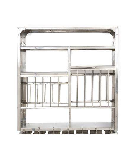 Metal Kitchen Rack by Buy Bharat Gloss Finish Stainless Steel Kitchen Rack 30x30