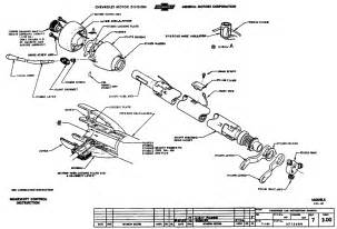 assembling steering column trifive com 1955 chevy 1956