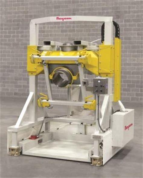 Floor Operator Bulk Bag Filler Pivots Fill To Operator Powder Bulk