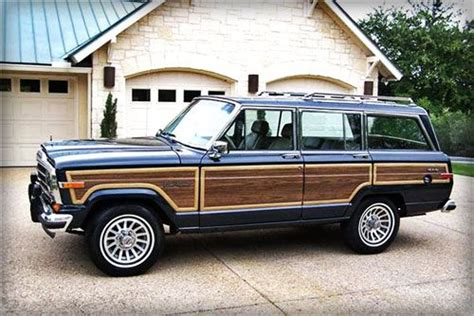 navy blue jeep grand 1989 jeep grand wagoneer navy blue doyouremember com