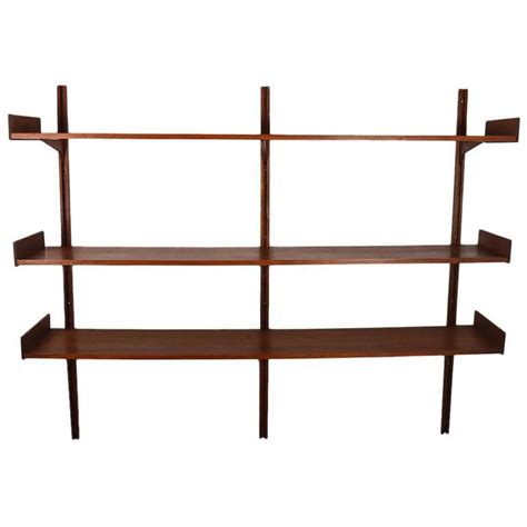 modern wall mounted shelves albert of london danish modern wall mount shelf at 1stdibs