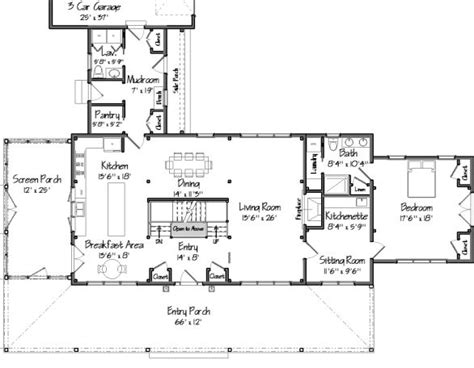 ina garten barn floor plan barn house plans for when i build my new house