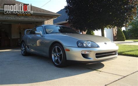 2008 Toyota Supra 1998 Toyota Supra Quicksilver Low Targa Leather