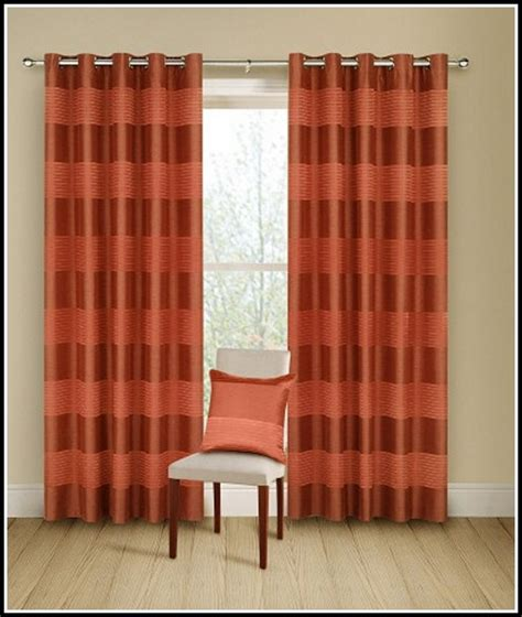 brown orange curtains orange cream and brown curtains curtains home design