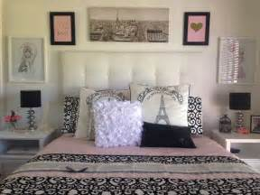 pink black and gold paris bedroom the master bedroom