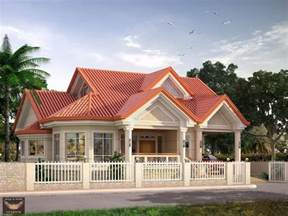 Attic House Design by Home Design Elevated Bungalow With Attic Page Bungalow
