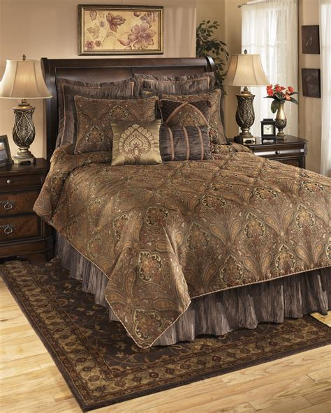 arabic bedroom set bellingham moroccan queen bedding set q162005q ashley