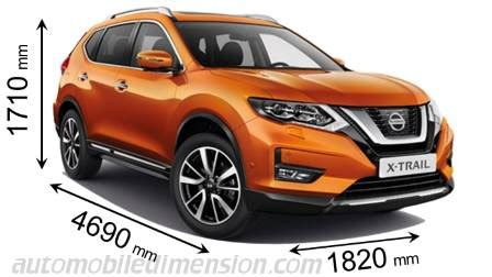 Nissan X Trail Kofferraum Abmessungen by Nisan X Trail Kofferraum Automobil Bildidee