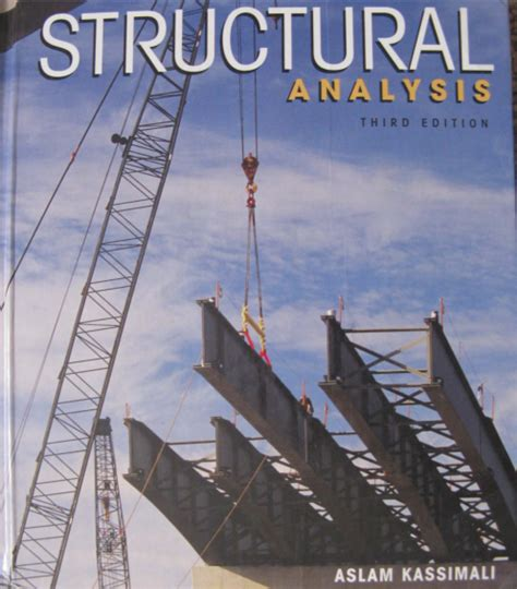 computer methods in structural analysis books structural analysis by aslam kassimali 4th