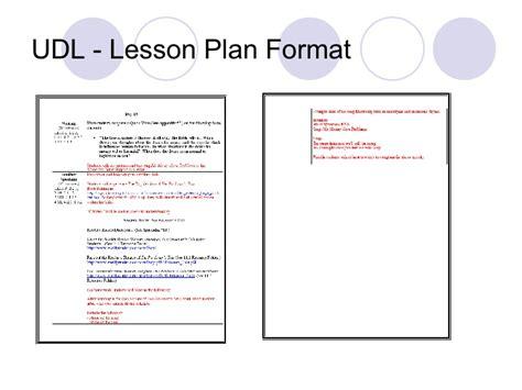 universal design lesson plan template udl pardoners tale lesson
