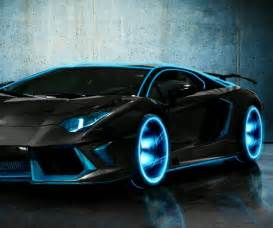 image gallery neon blue cars
