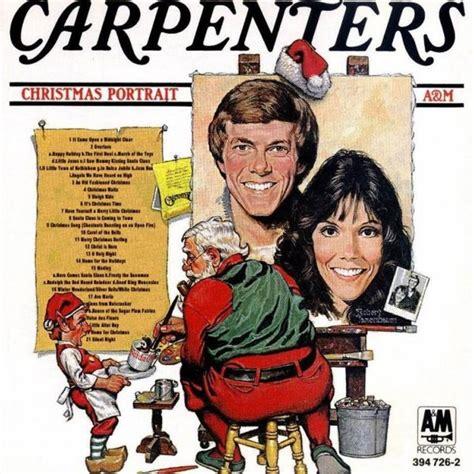 carpenters  christmas portrait
