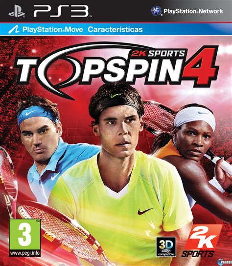 best tennis for ps3 hilo oficial top spin 4 ya a la venta en playstation 3