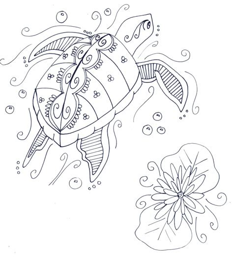 coloring pages for adults turtles free coloring pages for adults