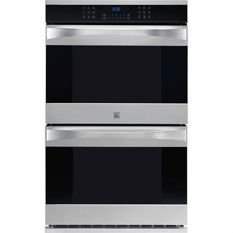 Kenmore Elite 48473 30 Quot Electric Wall Oven W True Convection Stainless Steel Shop