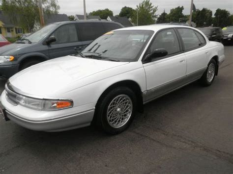 how cars run 1995 chrysler lhs regenerative braking buy used 1995 chrysler new yorker lhs with 23000 actual miles in milwaukee wisconsin united