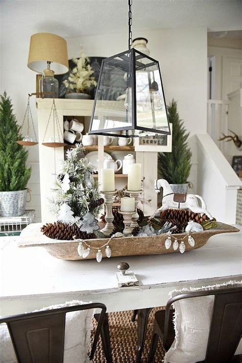 neutral  organic winter decor ideas digsdigs