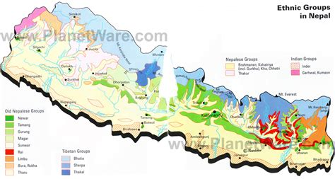 middle east map nepal ethnic groups of africa and the middle east an
