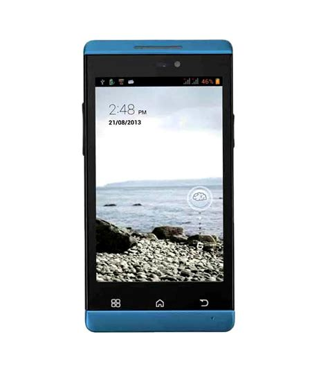 xolo a500 club xolo a500 club 4gb blue mobile phones online at low prices