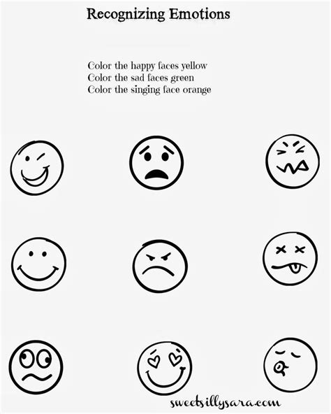 worksheets for preschoolers on emotions 77 best kids emotions images on pinterest behavior