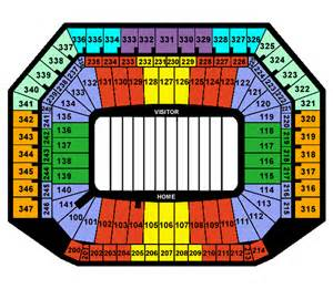 Ford Field Seat Map Ford Field