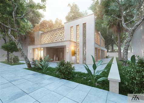 home design arabic style arabic modern house by mohamed zakaria design ideas