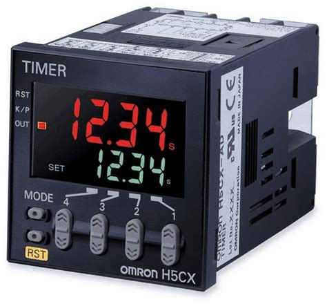 omron h5cx a n 1 16 din multi mode digital timer 100 to