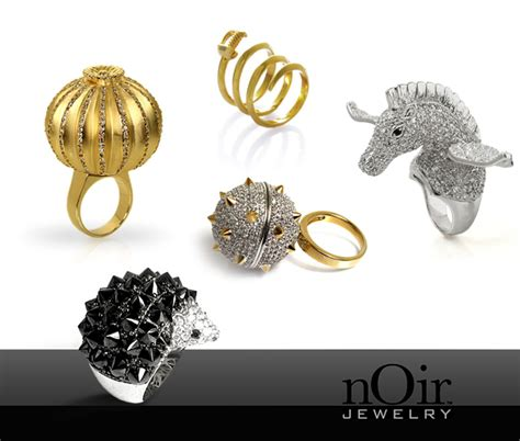 luxury jewelry designers amazing and unique luxury rings by noir jewelry