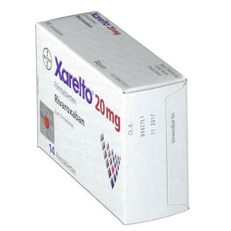 Obat Xarelto 10 Mg xarelto 20 mg filmtabletten shop apotheke