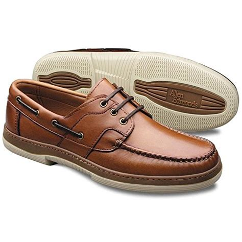 boat shoes qatar allen edmonds men s eastport boat shoe tan 14 d buy