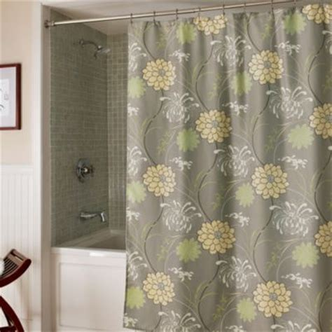 Pale Yellow Shower Curtain by Moved