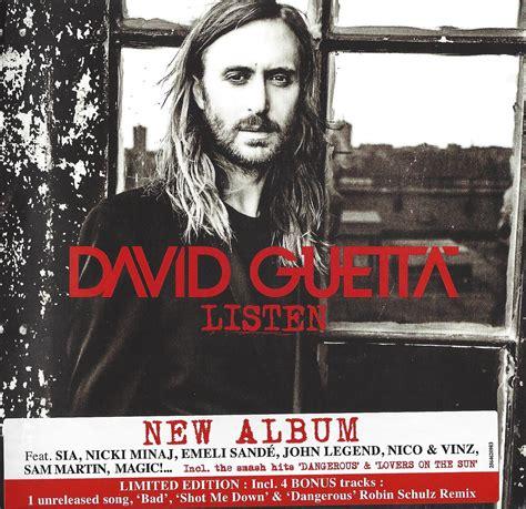 David Guetta 2 david guetta listen deluxe edtion 2 cd dubman home