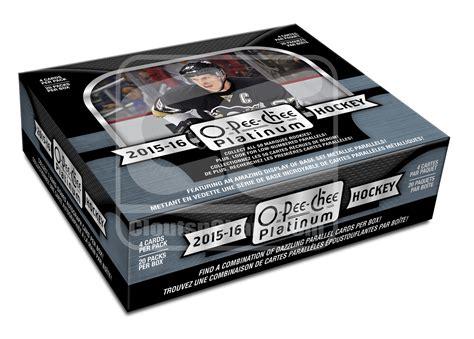 Glutax Platinum Per Box 2015 16 ud o chee platinum hockey hobby 16 boxes cloutsnchara