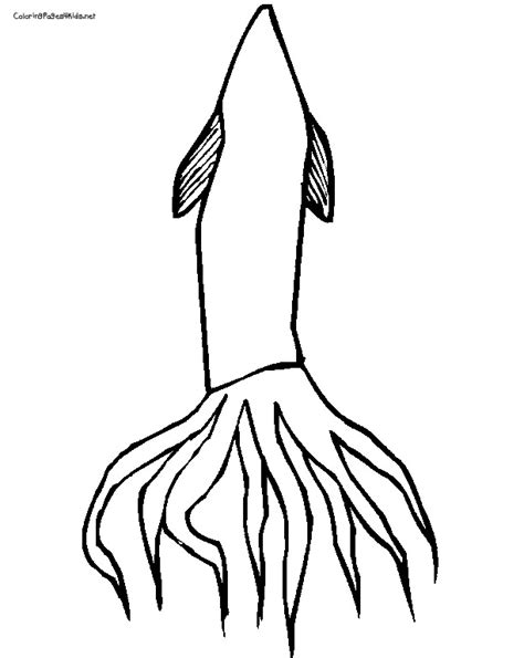 ballistic squid coloring pages coloring pages