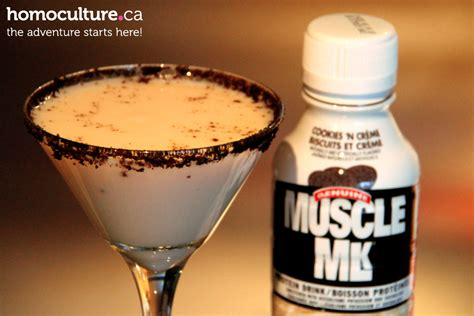 protein vodka cookies and protein martini thehomoculture